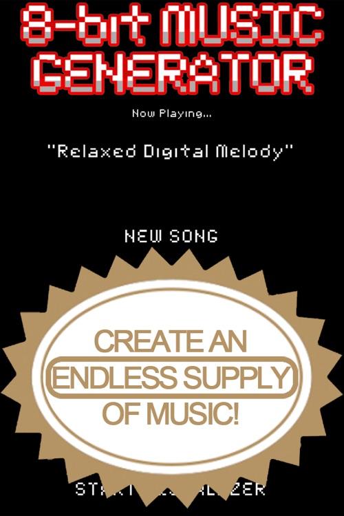 8-bit Music Generator
