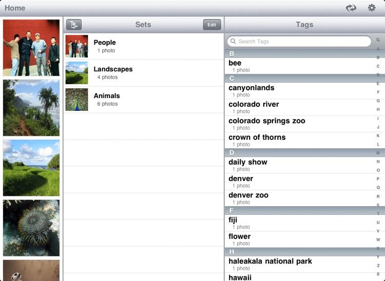 Photo Pad: Flickr - Sync Photos