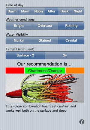Lure A Fish Fishing Lure Color Picker On The App Store