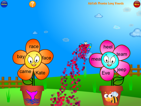 ABC Phonics Butterfly Long Vowels Free- First Grad - náhled