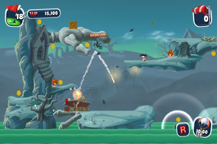 Worms Crazy Golf screenshot-3