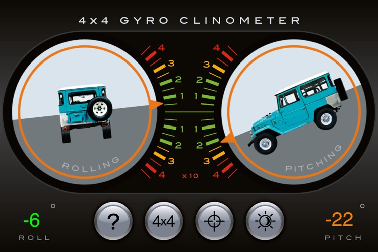 4x4 Gyroscope Clinometer screenshot-1