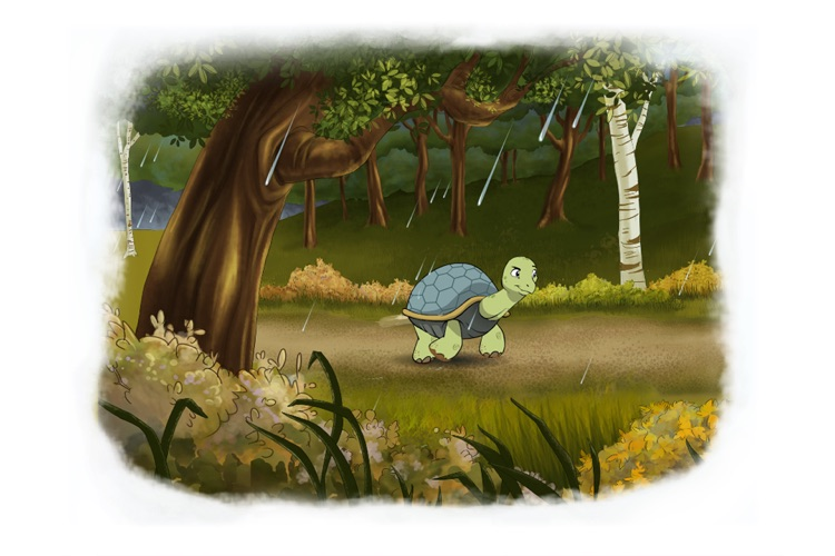 Tortoise and Hare: an Animated Aesop Children's Story Book HD