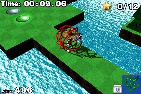 Puppet Labyrinth 3D Lite screenshot-3
