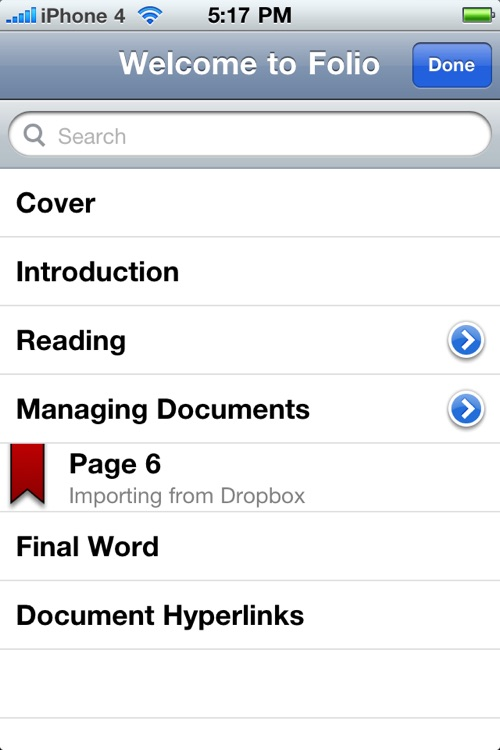 Folio ~ The PDF Reader screenshot-3