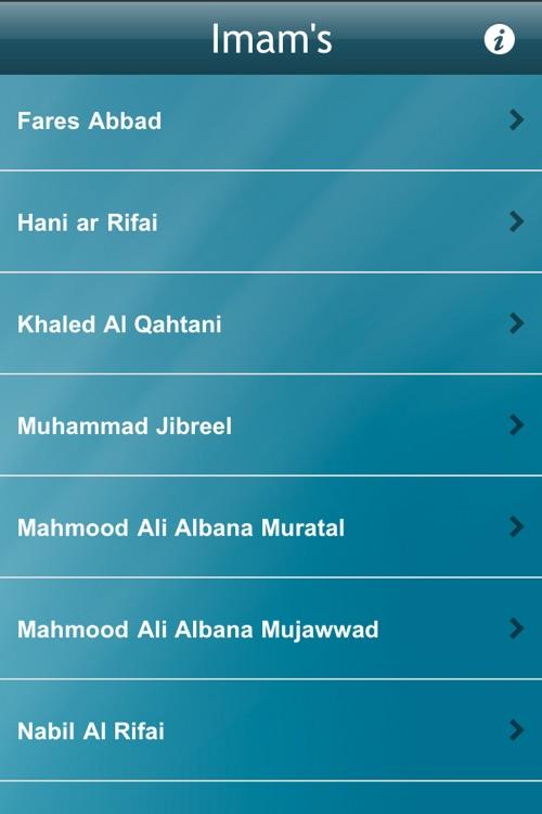Holy Quran - 50+ Reciters screenshot-3