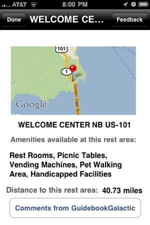 Rest Area Finder on the App Store