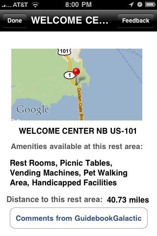 Rest Area Finder screenshot-3