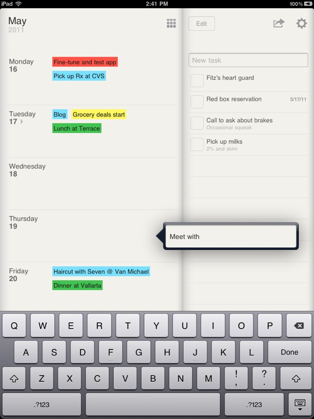 Weekly Calendar App Mac : ‎planner for ipad weekly calendar and tasks on the app store