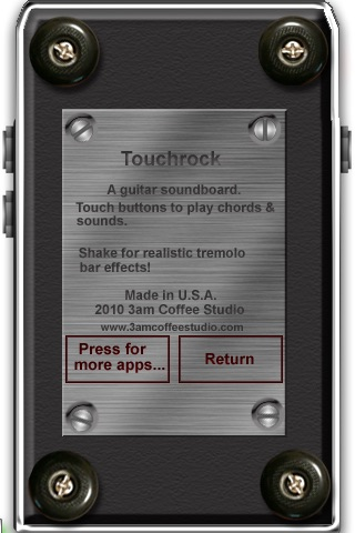 Touchrock- Air Guitar for your fingers!