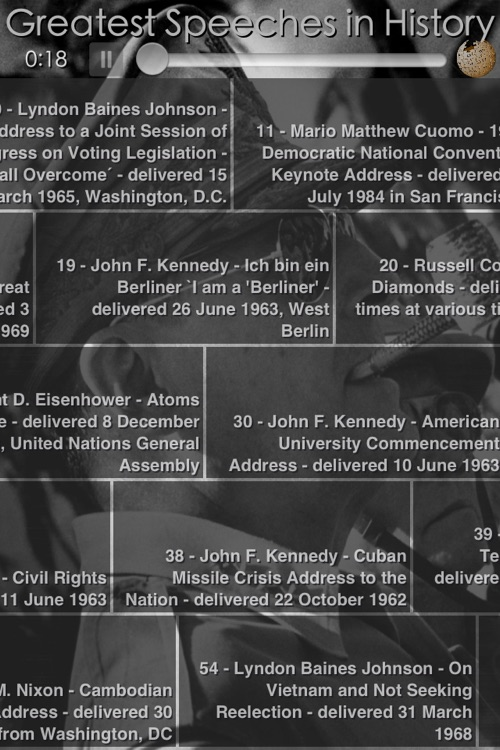 Famous Speeches in History screenshot-4