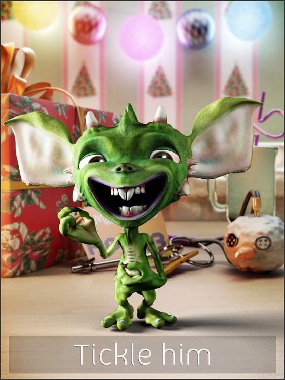 Talking Gremlin HD: Christmas Special screenshot-3