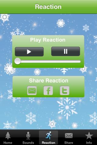 Santa Alarm Screenshot on iOS