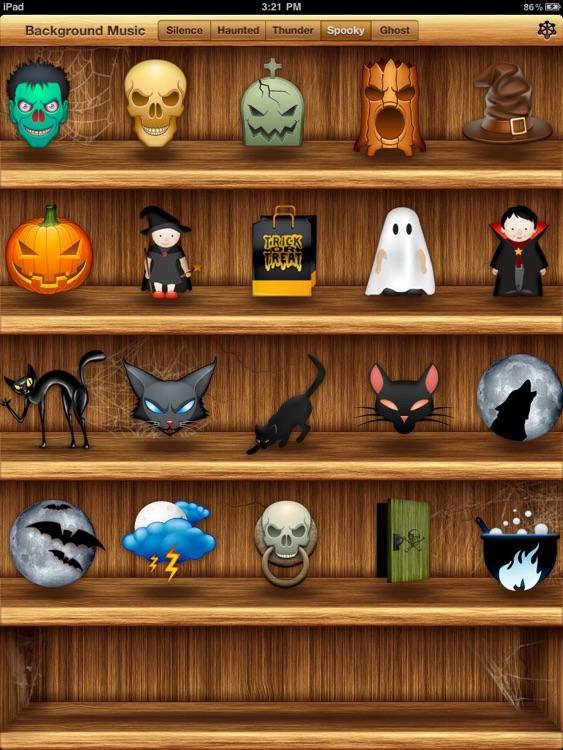Halloween Sound Shelf