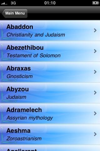 The Encyclopedia of Demons screenshot-3