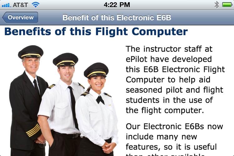PRO Pilot Electronic E6B screenshot-4