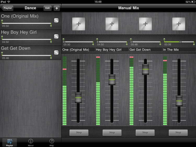DJ Mixer HD screenshot-2