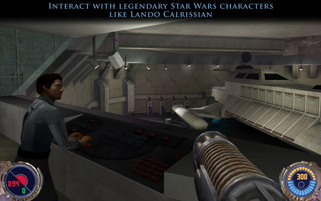 Star Wars Jedi Knight II: Jedi Outcast Screenshot