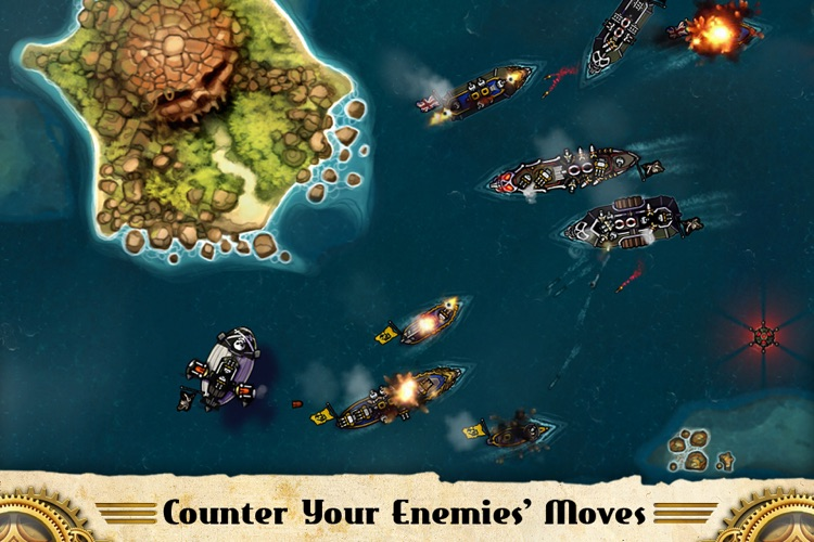 Crimson: Steam Pirates for iPhone screenshot-3