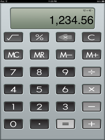 Calculator XL screenshot