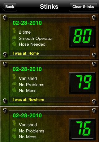 Stink-O-Meter screenshot-3