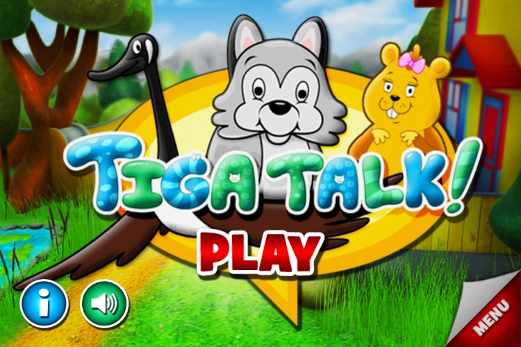 Tiga Talk Speech Therapy Games