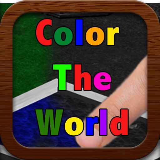 Color the World - The Free 3D Coloring Book