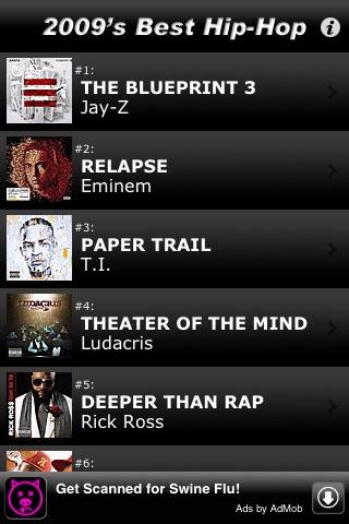 2,009 Best Hip-Hop & Rap Albumsのおすすめ画像1