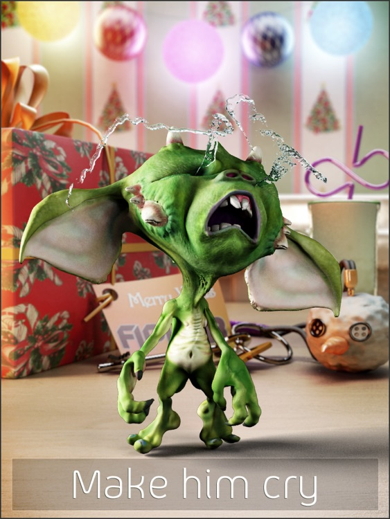 Talking Gremlin HD: Christmas Special screenshot-4