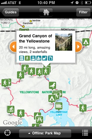 Yellowstone National Park - The Official Guide screenshot-3