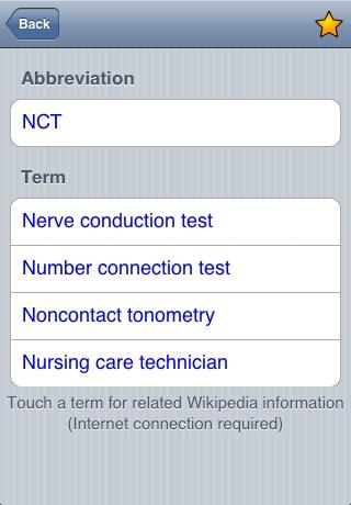 Medical Abbreviations screenshot-3