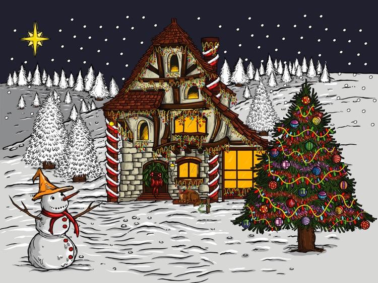 Holiday Advent Calendar HD Lite