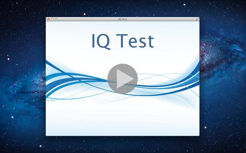点击获取IQ Test