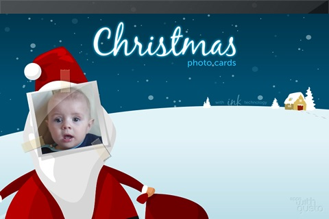 Christmas Photo Cards with Ink screenshot-4