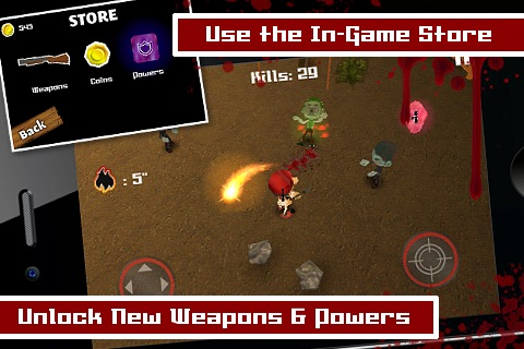 Tsolias Vs Zombies 3D FREE screenshot-4