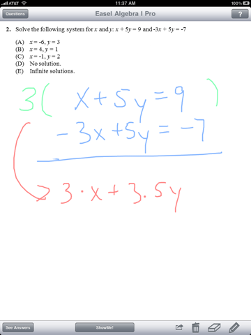 Algebra Pro - Complete Workbook with ShowMe Lessons для ...
