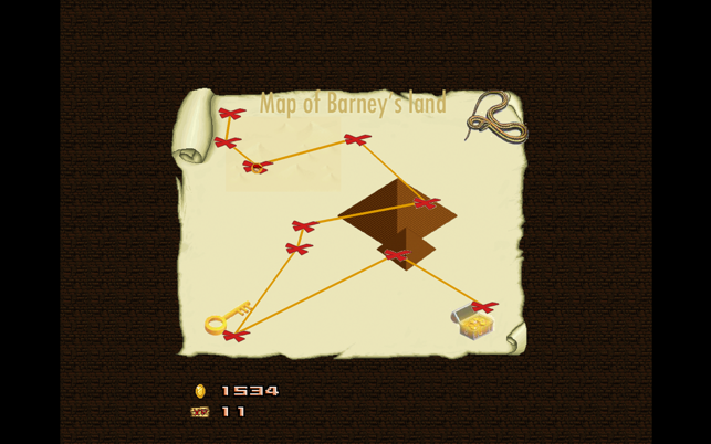 Barney, game for IOS