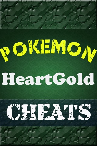 Pokemon HeartGold Cheat Code