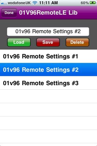 01v96 Remote LE