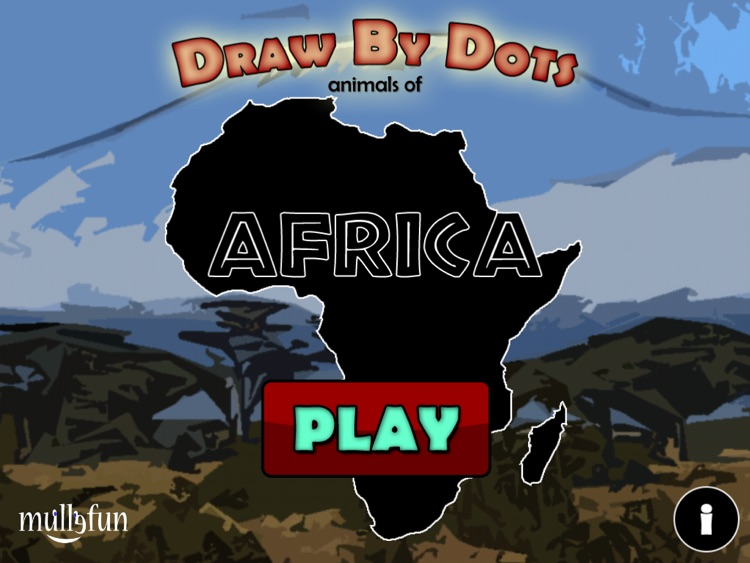 Draw by Dots - Animals of Africa
