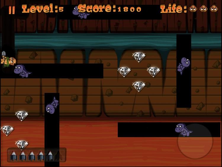 Cave Digger HD screenshot-4