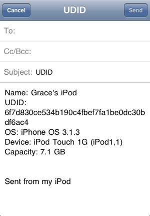UDID Finder on the App Store