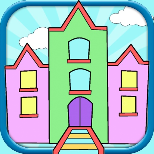 Coloring Book for Kids - Free Finger Painting