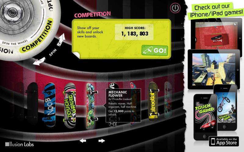 Touchgrind Screenshot