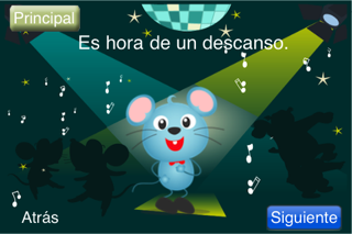 (Spanish) Speech with Milo: Prepositions screenshot four