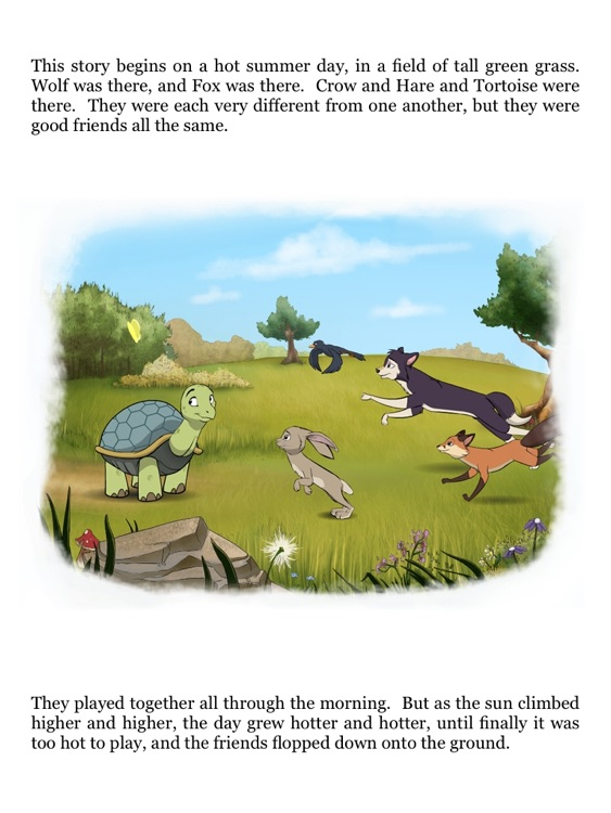 Tortoise and Hare: an Animated Children's Story Book