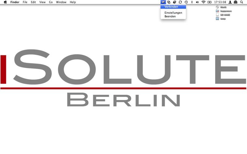 WebDAV Client Screenshot