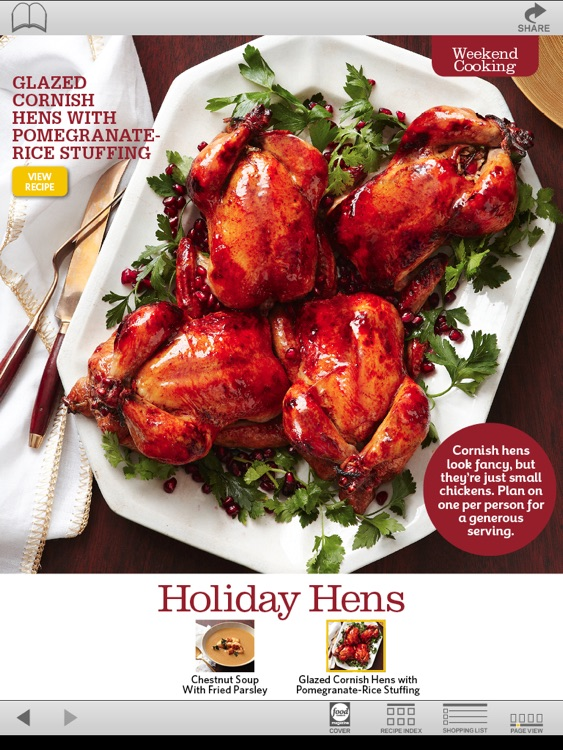Food Network Magazine December 2011 screenshot-3