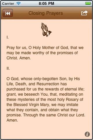The Rosary App