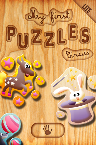 My first puzzles: Circus (lite version) Screenshot